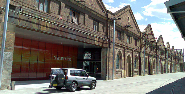 Photo of Carriageworks facade