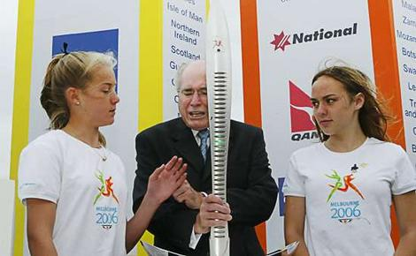 The Baton grasps John Howard