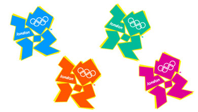 Logo for the London 2012 Olympics