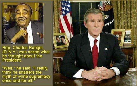 Photograph of George W Bush