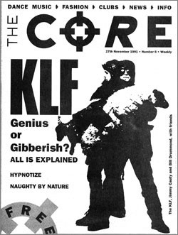 Cover of The Core magazine number 6, 27 November 1991