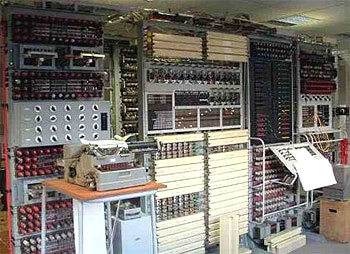 Photograph of Colossus computer