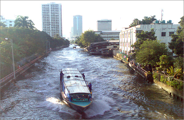 Photograph of Khlong Saen Saeb Canal, Bangkok
