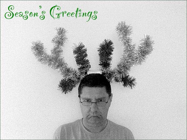 Photograph of Stilgherrian for Christmas