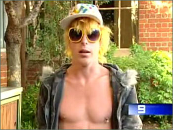 Photograph of Corey Worthington from Channel 9
