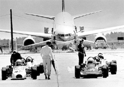 Photograph of the Boeing 767 Gimli Glider after its crash