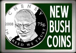 Screenshot from New Bush Coins video