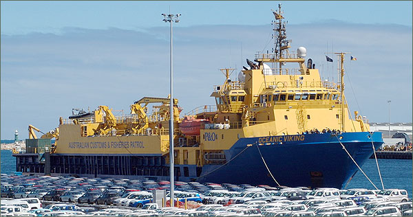 Photograph of Oceanic Viking