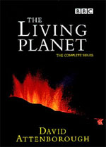 DVD cover for The Living Planet