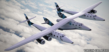 Image of Virgin Galactic SpaceShipTwo