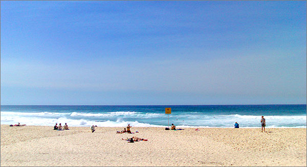 Photograph of Bronte Beach