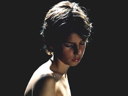 A portion of a Bill Henson nude photograph of young woman