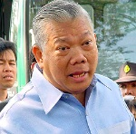 Photo of former Thai prime minister Samak Sundaravej