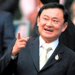 Photo of former Thai prime minister Thaksin Shinawatra