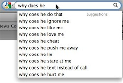 "Screenshot of Google asking ""Why does he..."""