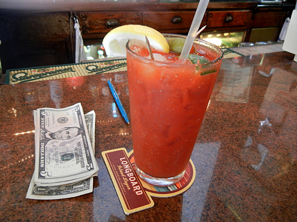 Vesuvio's $8 Bloody Mark: click to embiggen