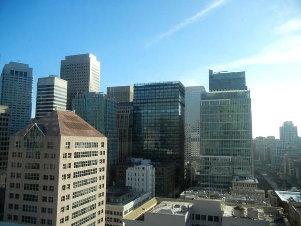 San Francisco sunrise: click to embiggen