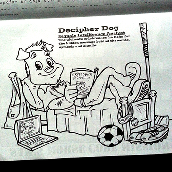 NSA Decipher Dog character: click to embiggen