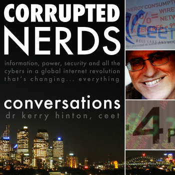 Cover art for Corrupted Nerds: Conversations episode 4: click for podcast web page