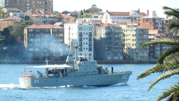 HMAS Advance (P83): click to embiggen