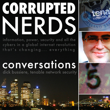 Cover art for Corrupted Nerds: Conversations episode 5: click for podcast web page