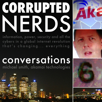 Cover art for Corrupted Nerds: Conversations episode 6: click for podcast web page