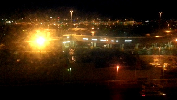 Sydney airport before dawn: click for original image