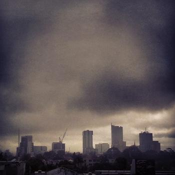 Melbourne skyline: click to embiggen