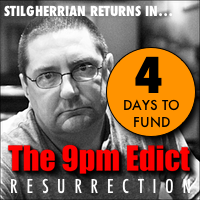 Stilgherrian returns in The 9pm Edict: Resurrection: click for Pozible crowdfunding project