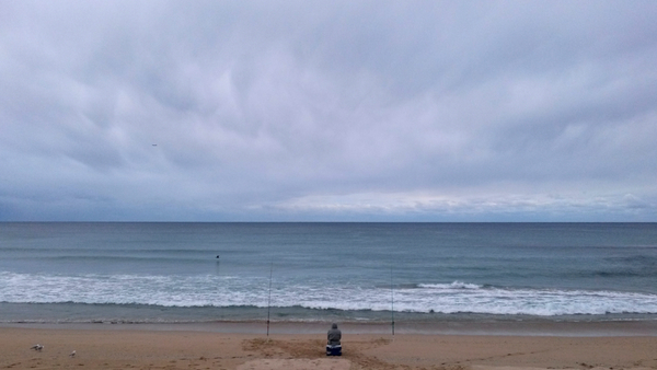 Fisherman at North Cronulla Beach: click to embiggen