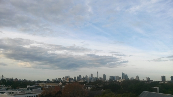Sydney skyline from Camperdown: click to embiggen