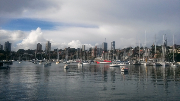 Rushcutters Bay, Sydney: click to embiggen