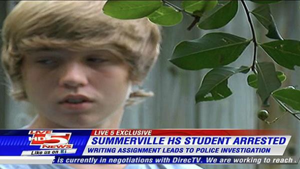Screenshot from WCSC Live 5 News: click for original news story