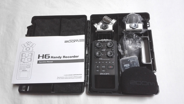 Zoom H6 Handy Recorder: click to embiggen