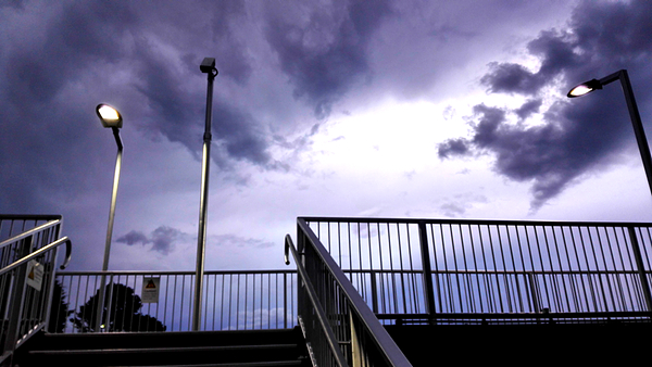 Wentworth Falls awaits tonight's storm: click to embiggen