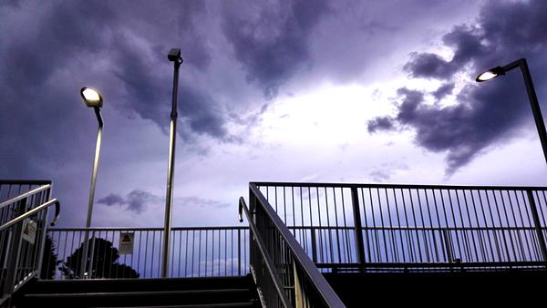 Wentworth Falls awaits tonight's storm: click to embiggen