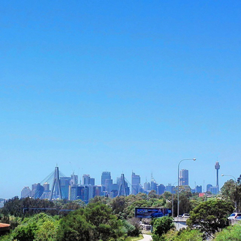 Sydney skyline, 30 December 2014: click to embiggen