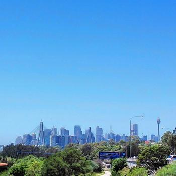 Sydney skyline, 30 December 2014: click to embiggen