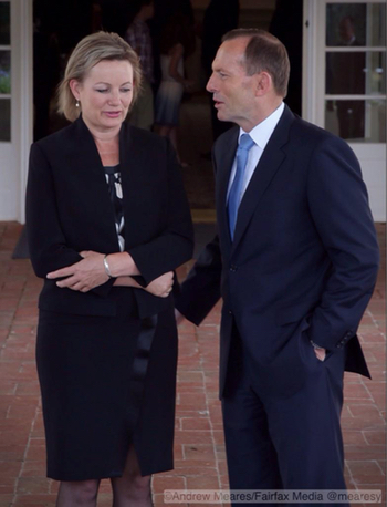 Photograph of Sussan Ley by Andrew Meares: click to embigge