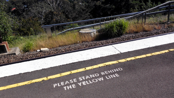Please stand behind the yellow line: click to embiggen