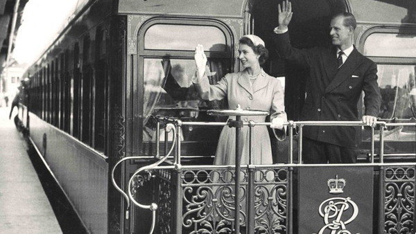 Royal Visit 1954 -- Central Station: click to embiggen