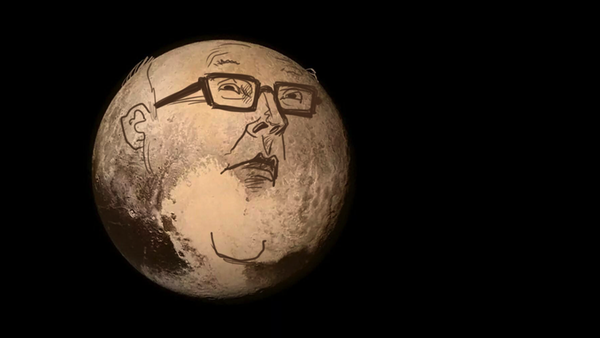 George Brandis as Pluto by cartoonist Dave Pope