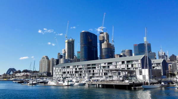 Barangaroo from Pyrmont: click to embiggen