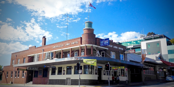 Australian Arms Hotel, Penrith: click to embiggen