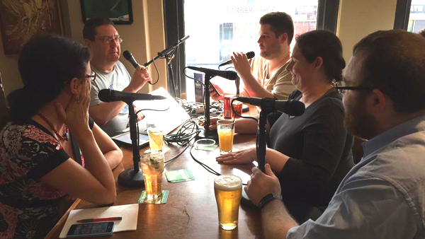 The 9pm Edict's Public House Forum panel: click for podcast web page