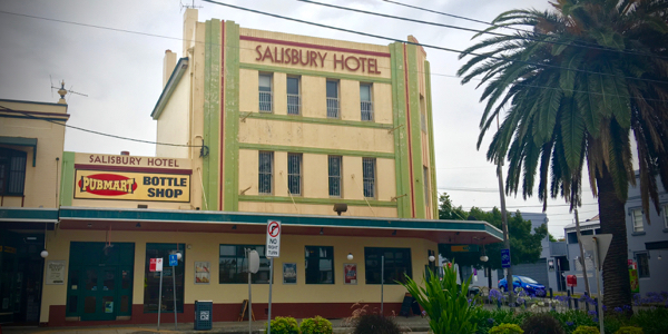 Photo of Salisbury Hotel: click for podcast event page