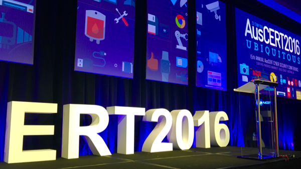 ERT 2016: part of the stage for  AusCERT 2016