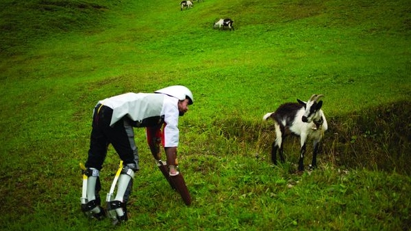 Goat-man Thomas Thwaites
