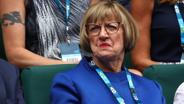 Margaret Court at the 2017 Australian Open