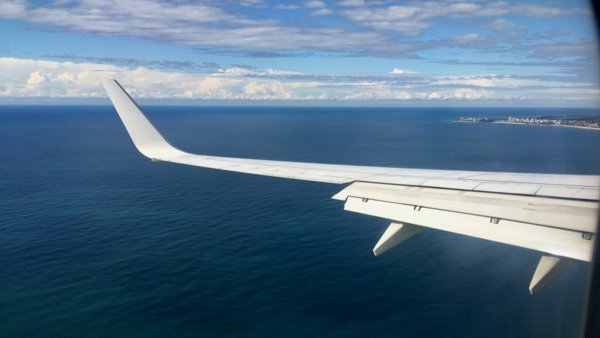 Approaching Gold Coast Airport